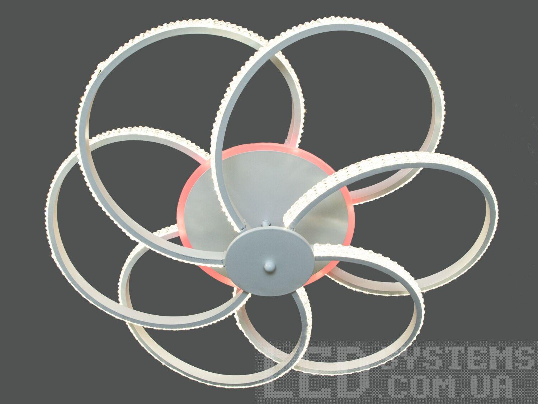 Потолочная светодиодная люстра с диммером 130WПотолочные люстры, Светодиодные люстры, Люстры LED, Потолочные, светодиодные панели, Новинки