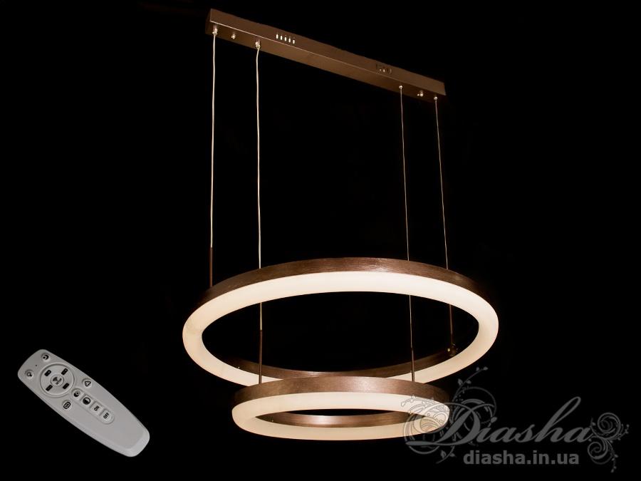 Современная светодиодная люстра с диммером, 95WСветодиодные люстры, Люстры LED, Подвесы LED, Новинки