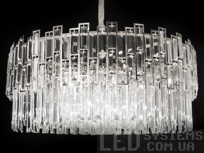 Хрустальная люстра в современном стиле для гостиной, цвет хром, на 12 ламп. Хрустальная люстра в современном стиле для гостиной, цвет хром, на 12 ламп Всего за 6900грн.