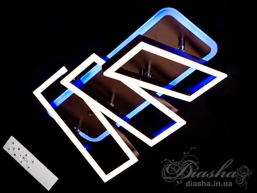 Потолочная LED-люстра с диммером, 100WПотолочные люстры, Светодиодные люстры, Люстры LED, Потолочные, Новинки