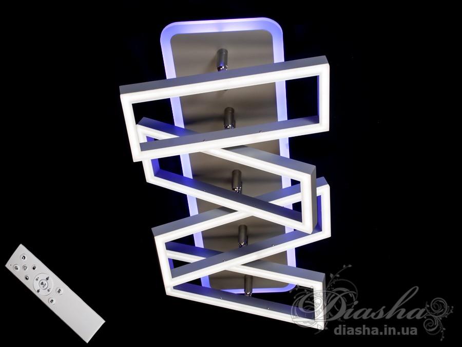 Потолочная LED-люстра с диммером, 130WПотолочные люстры, Светодиодные люстры, Люстры LED, Потолочные, Новинки
