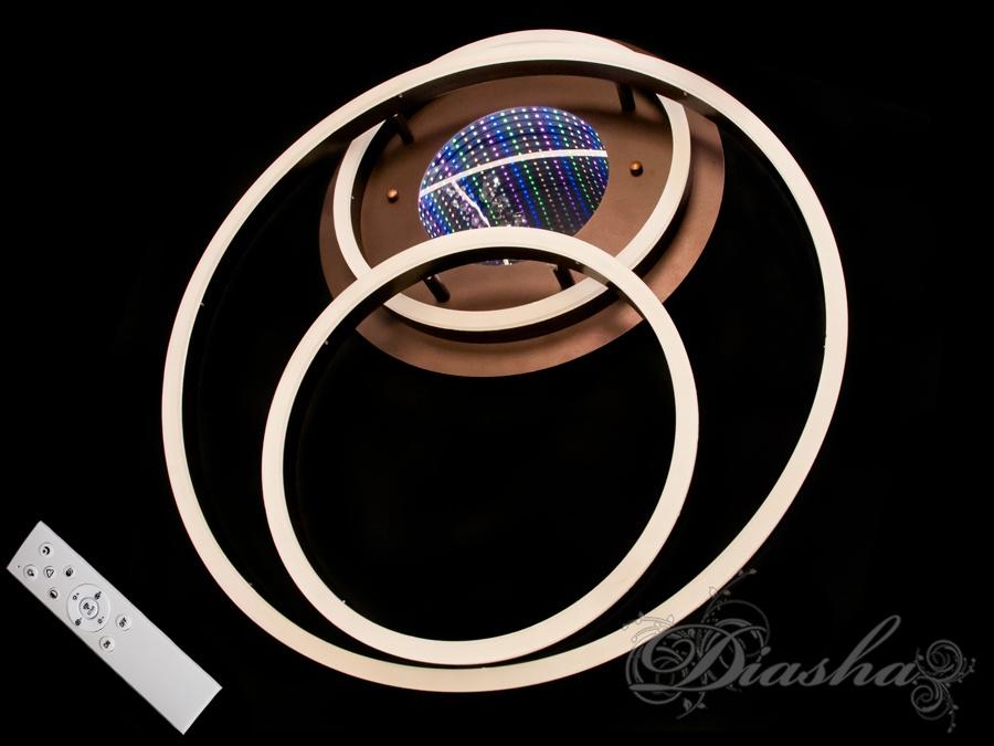 Потолочная LED-люстра с 3d эффектом, 105W. Потолочная LED-люстра с 3d эффектом, 105W Всего за 2800грн.