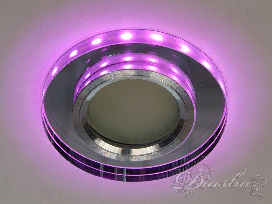 Обычно точечные светильники предназначаются для подвесных потолков и для подсветки различных нишили рабочей поверхности. Конструктивно точечный светильник состоит из двух частей: видимой - декоративной и встроенной – функциональной. Функциональная часть светильников состоит из каркаса, куда вставляется источник света и крепится декоративная часть, а также зажимов, которые предназначены для крепления светильника к потолку. Разнообразие декоративной части точечных светильниковпозволяет сделать Ваш интерьер неповторимым. Главные качества современных точечных светильников – это равномерное освещение всего помещения с возможностью акцентирования необходимых деталей интерьера.Точечные светильники произведенные из оптической смолы лучшее решение для натяжных потолков. Лёгкий корпус из акриловой смолы с оптическими характеристиками близкими к хрусталю. Стойкий к механическим повреждениям. Большой выбор моделей и цветов светильников.Долгожданное обновление светодиодной подсветки! Теперь вам больше не придётся выбирать между светильниками с белой подсветкой и цветной! Переключение цветов подсветки осуществляется простым выключением-включением: холодный белый, розовый, розовый + холодный белый.Мощность подсветки 3Вт.Для оптовых покупателей отпускается только ящиками по 50шт.Лампа MR-16 в комплект не входит.