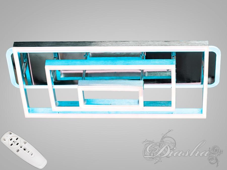 Потолочная светодиодная люстра с диммером 125WПотолочные люстры, Светодиодные люстры, Люстры LED, Потолочные, Новинки