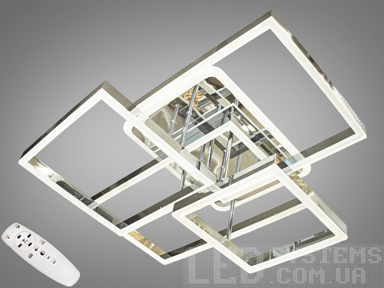 Потолочная светодиодная люстра с диммером 150W. Потолочная светодиодная люстра с диммером 150W Всего за 3820грн.