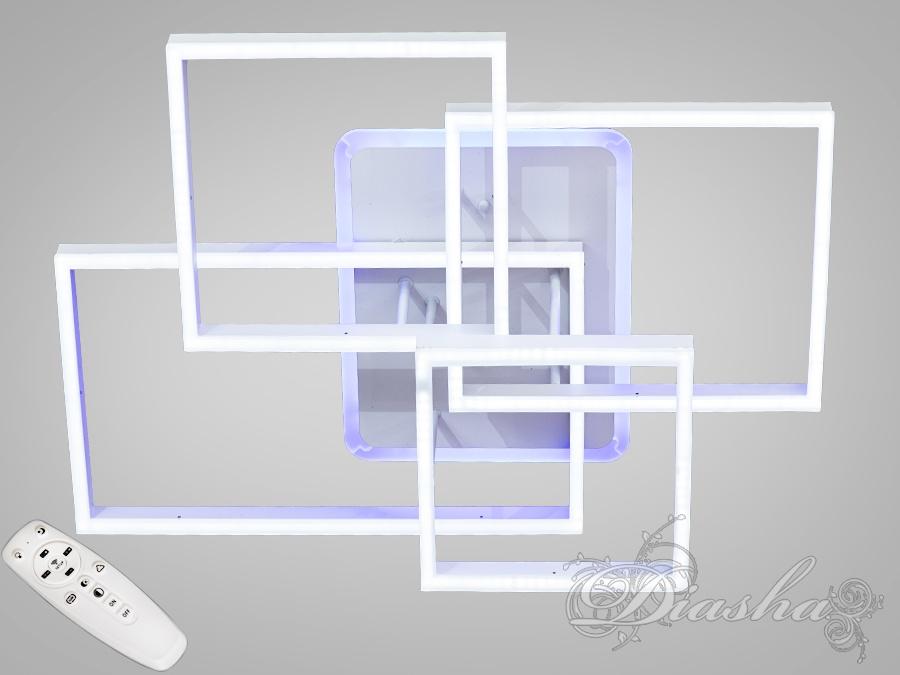 Потолочная светодиодная люстра с диммером 160WПотолочные люстры, Светодиодные люстры, Люстры LED, Потолочные
