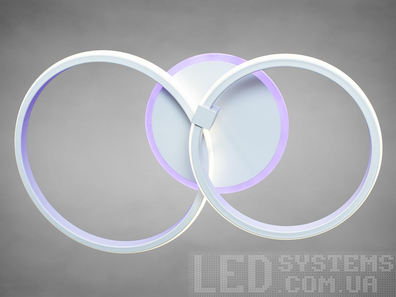 Потолочная светодиодная люстра с диммером 50WПотолочные люстры, Светодиодные люстры, Люстры LED, Потолочные, светодиодные панели, Новинки