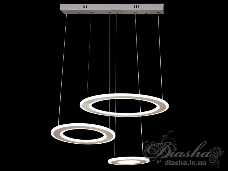 Современная светодиодная люстра, 130WСветодиодные люстры, Люстры LED, Подвесы LED