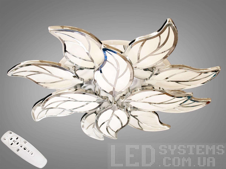 LED-люстра с диммером и RGB подсветкой, 175WПотолочные люстры, Светодиодные люстры, Люстры LED, Потолочные, Новинки