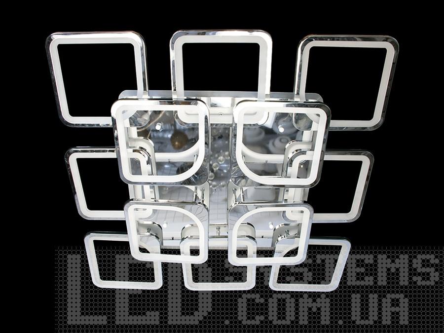 Потолочная LED люстра с пультом подсветкой, цвет хром, 385W на 56 м2. Потолочная LED люстра с пультом подсветкой, цвет хром, 385W на 56 м2 Всего за 5120грн.