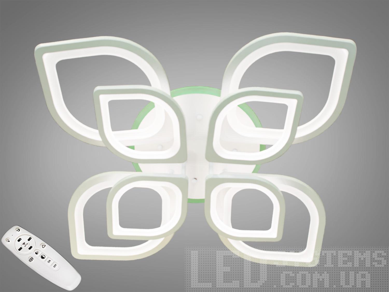 LED-люстра с диммером и RGB подсветкой, 165WПотолочные люстры, Светодиодные люстры, Люстры LED, Потолочные, Новинки