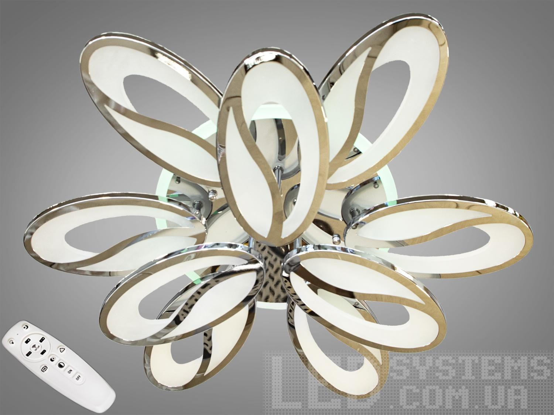 LED-люстра с диммером и RGB подсветкой, 130WПотолочные люстры, Светодиодные люстры, Люстры LED, Потолочные, Новинки