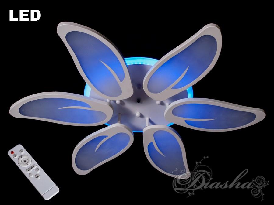 Потолочная LED-люстра с диммером и подсветкой, 110W. Потолочная LED-люстра с диммером и подсветкой, 110W Всего за 1200грн.