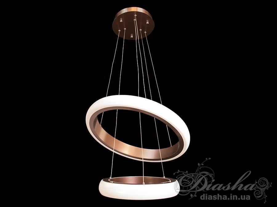 Современная светодиодная люстра с диммером, 75WСветодиодные люстры, Люстры LED, Подвесы LED, Новинки