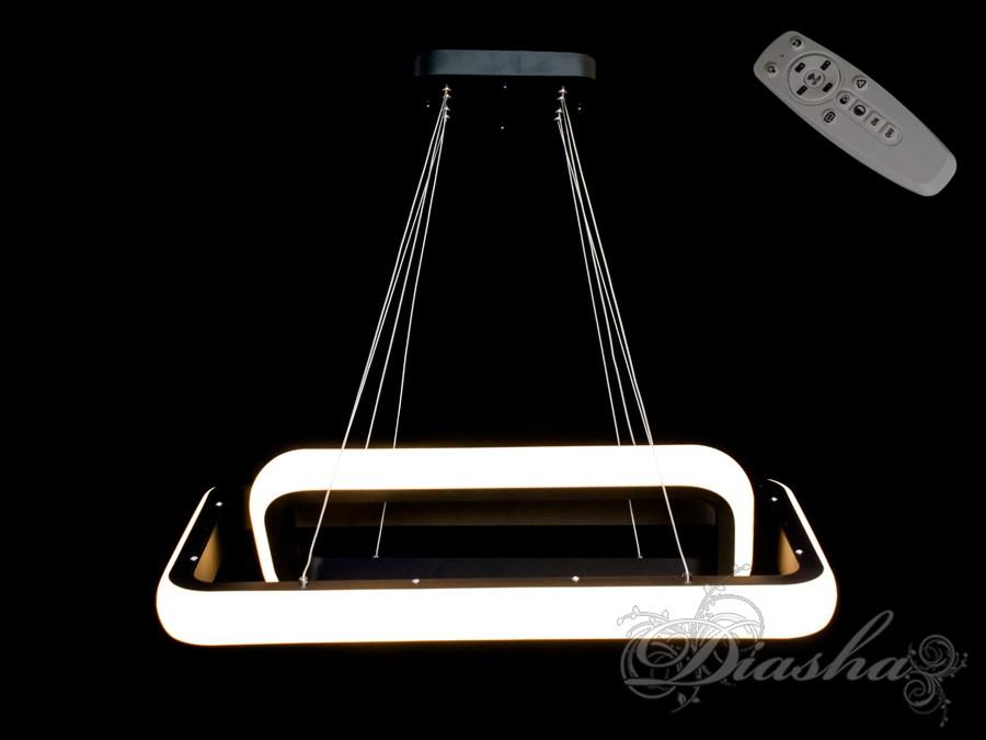 Современная светодиодная люстра с диммером, 55W. Современная светодиодная люстра с диммером, 55W Всего за 4850грн.
