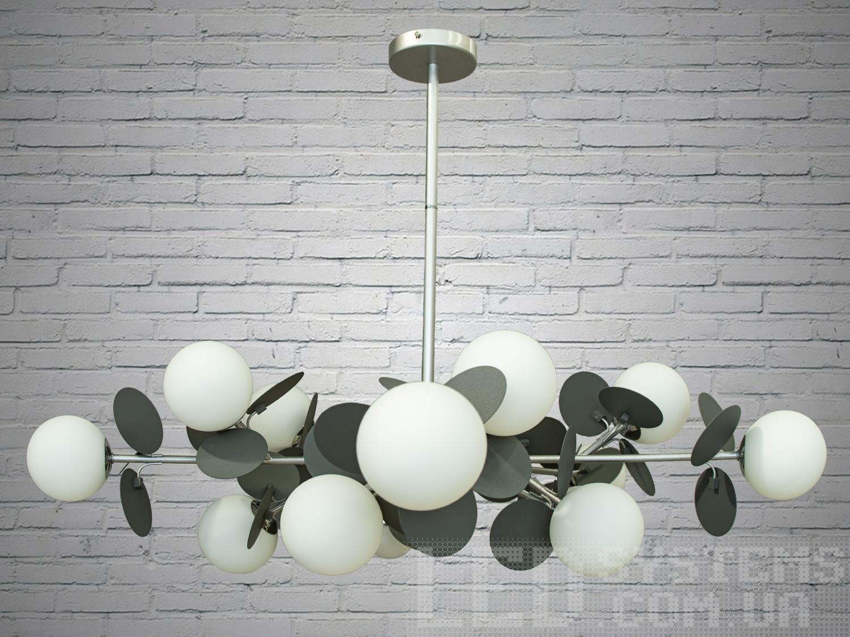 Люстра Loft на 15 лампСветильники