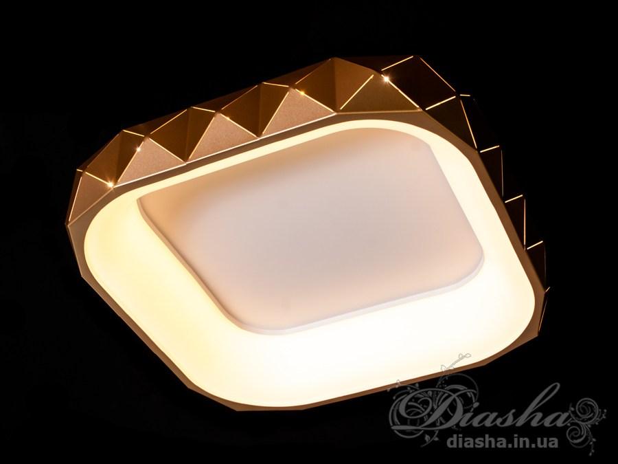 Светильник с регулируемым цветом свечения 50WПотолочные люстры, Светодиодные люстры, светодиодные панели, Люстры LED