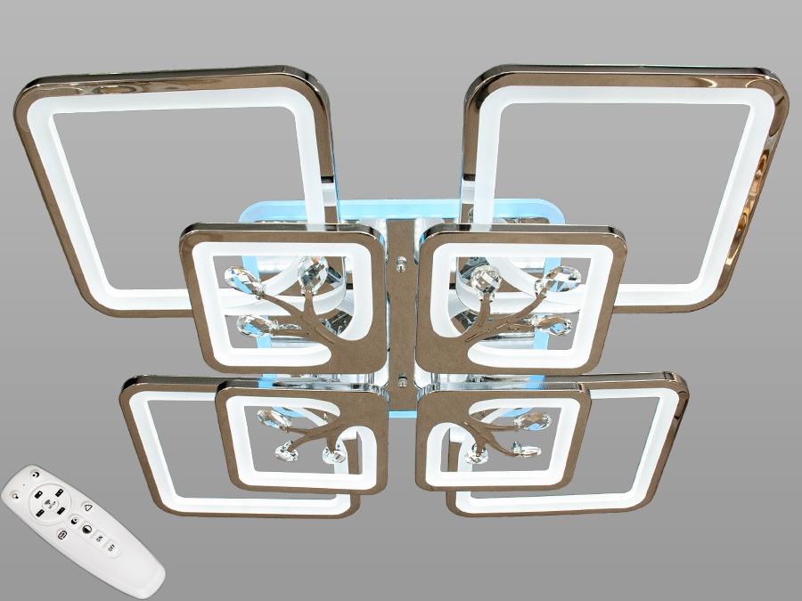 LED-люстра с диммером и RGB подсветкой, 165WСерия