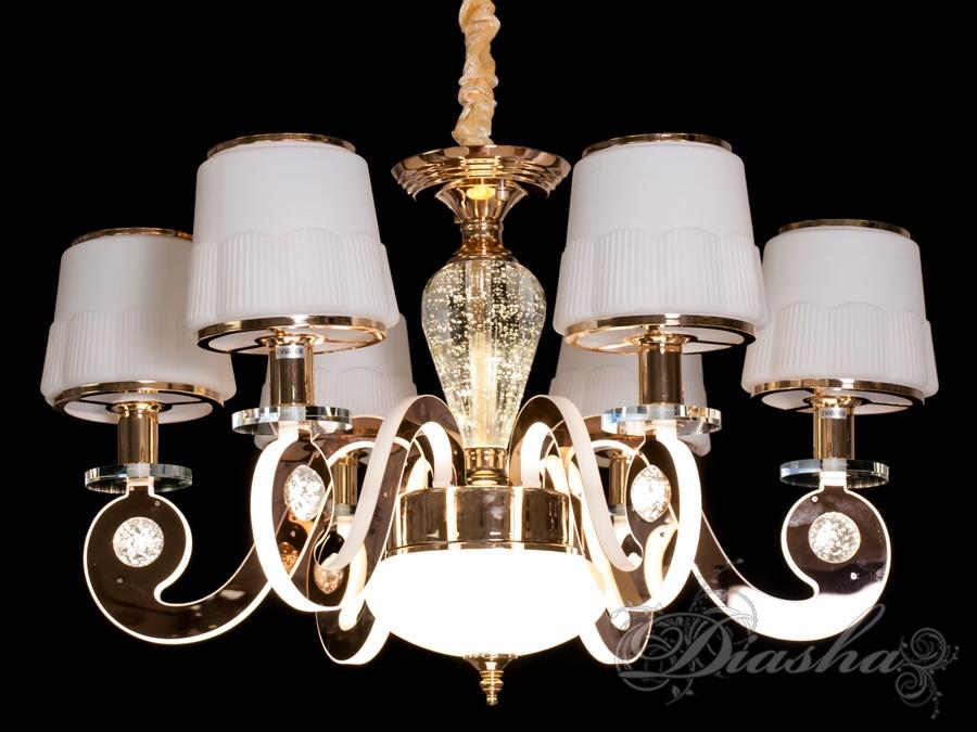 Классическая люстра со светящимися рожками 42WЛюстры классика, Подвесы LED, Новинки
