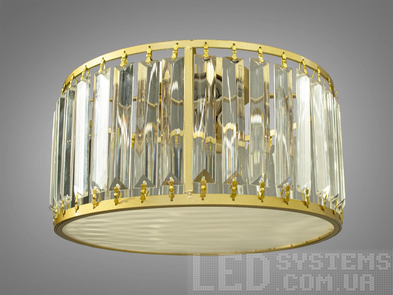 Современная потолочная хрустальная люстра на 3 лампыЛюстры классика, Хрустальные люстры, Новинки