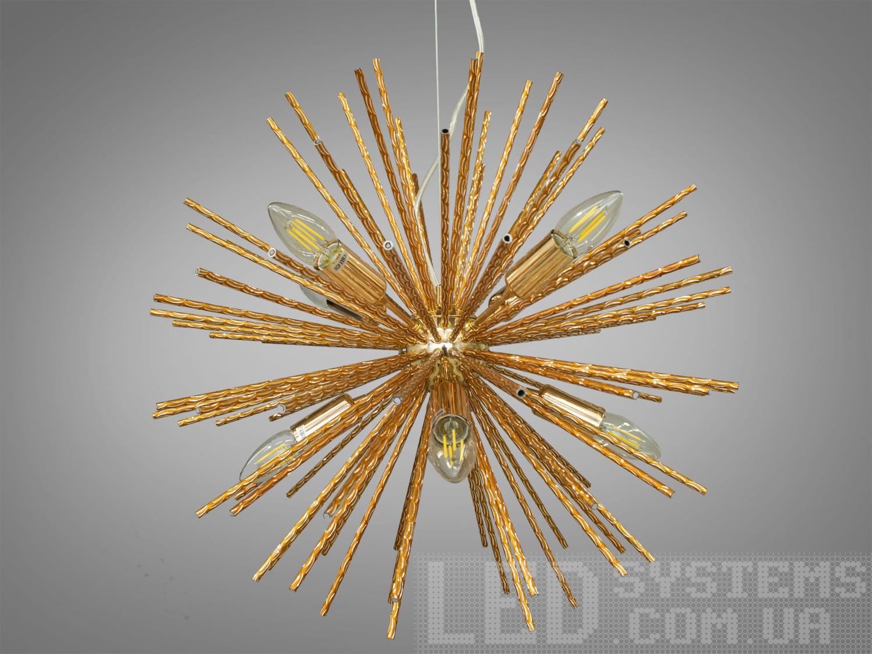 Люстра в стиле Loft на 8 лампСветильники