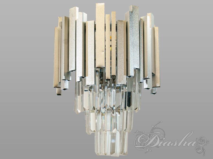 Современный хрустальный настенный светильник. Современный хрустальный настенный светильник Всего за 1300грн.