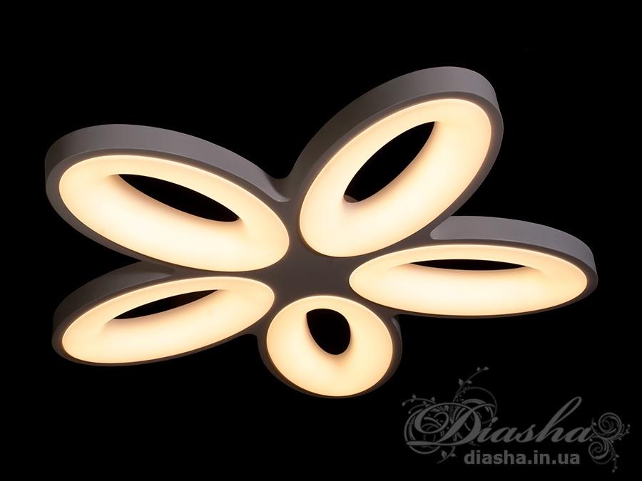 Светильник с регулируемым цветом свеченияПотолочные люстры, Светодиодные люстры, светодиодные панели, Люстры LED