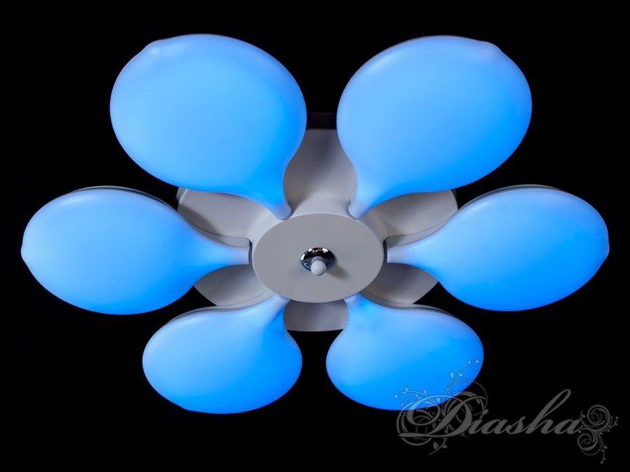 Светильник с регулируемым цветом свечения и цветной подсветкой 115WПотолочные люстры, Светодиодные люстры, светодиодные панели, Люстры LED