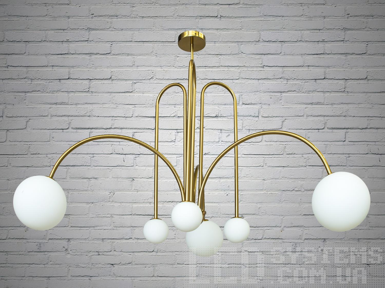 Люстра в стиле Loft на 6 лампСветильники