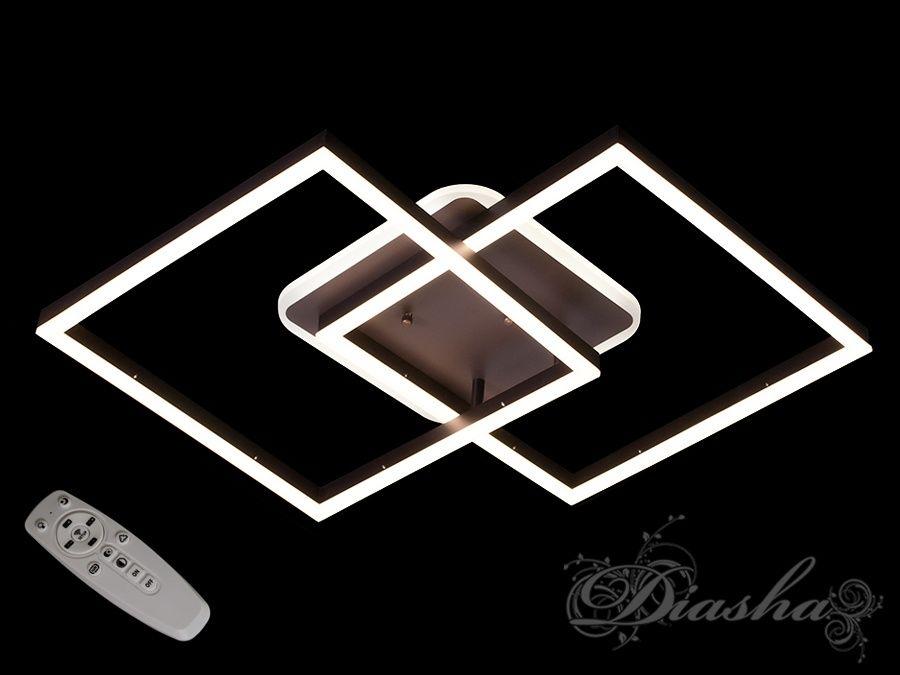 Потолочная LED-люстра с диммером и подсветкой, 85W. Потолочная LED-люстра с диммером и подсветкой, 85W Всего за 2040грн.