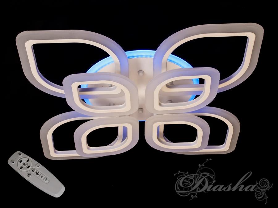 Потолочная LED-люстра с диммером и подсветкой, 150W. Потолочная LED-люстра с диммером и подсветкой, 150W Всего за 2280грн.
