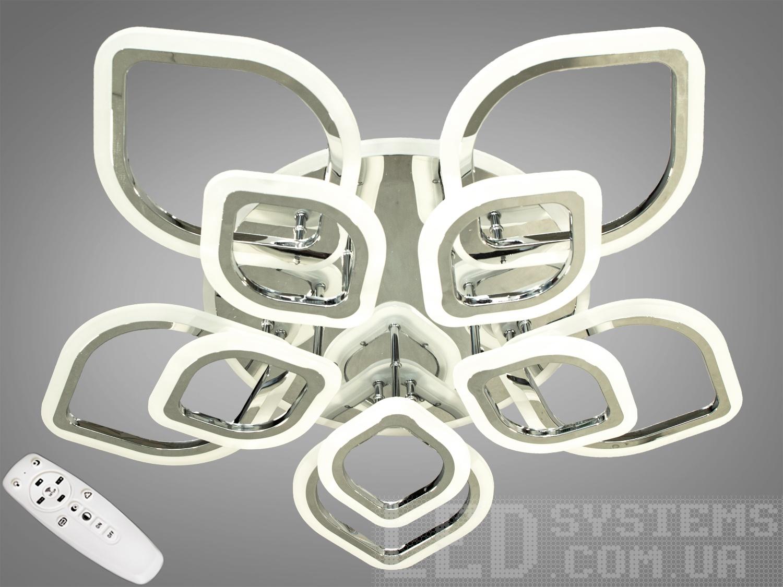 LED-люстра с диммером и RGB подсветкой, 150WПотолочные люстры, Светодиодные люстры, Люстры LED, Потолочные, Новинки