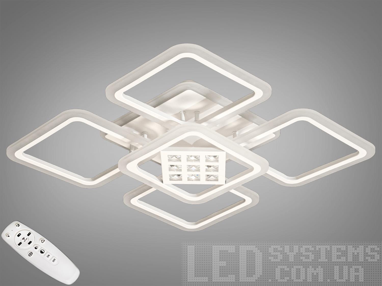 LED-люстра с диммером и RGB подсветкой, 130WСерия