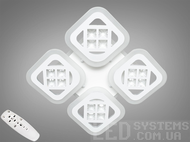 Потолочная светодиодная люстра с диммером 90WПотолочные люстры, Светодиодные люстры, Люстры LED, Потолочные, Новинки