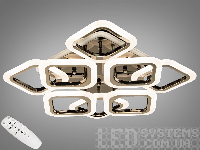 LED-люстра с диммером и RGB подсветкой, 90WСерия
