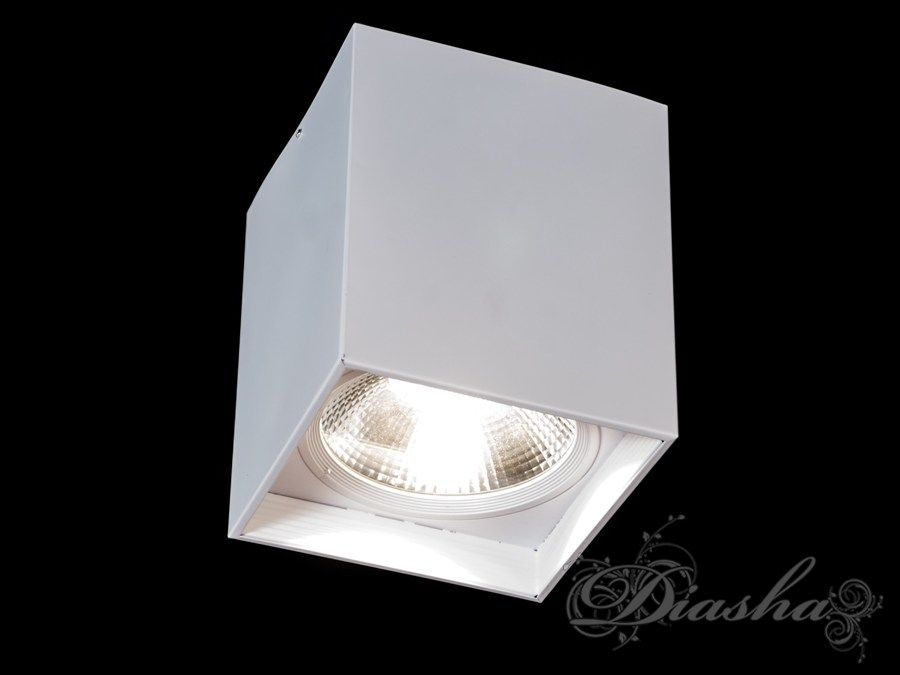Накладной светодиодный точечный светильник 50WLED downlights, Источники направленного света, Точечные светильники, Подсветка для витрин, Накладные точечные светильники, Светильники-тубы