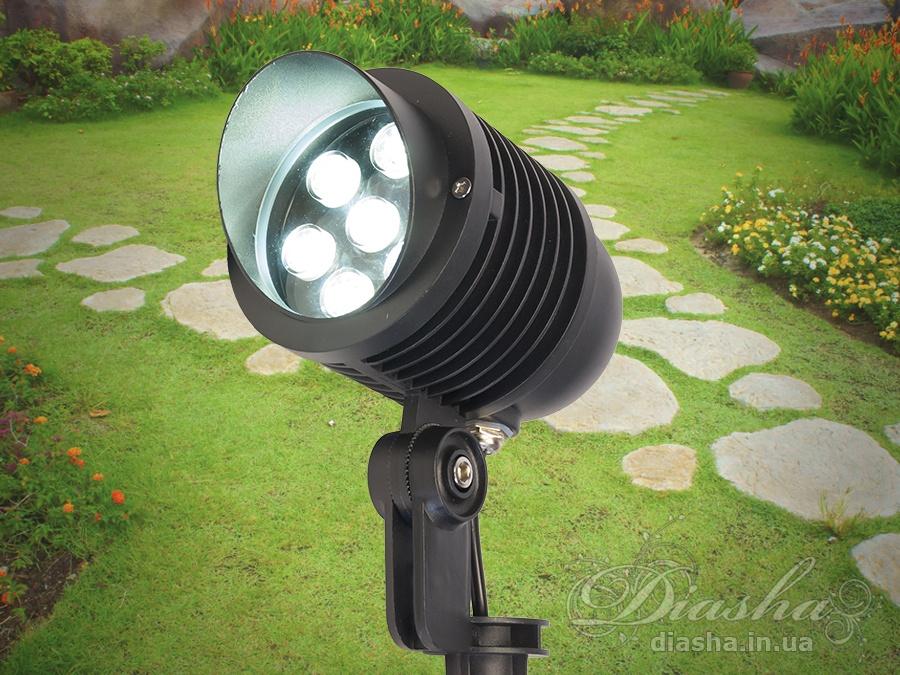 Светильник садово-парковый светодиодный, 7wсадовые светильники, уличные светильники