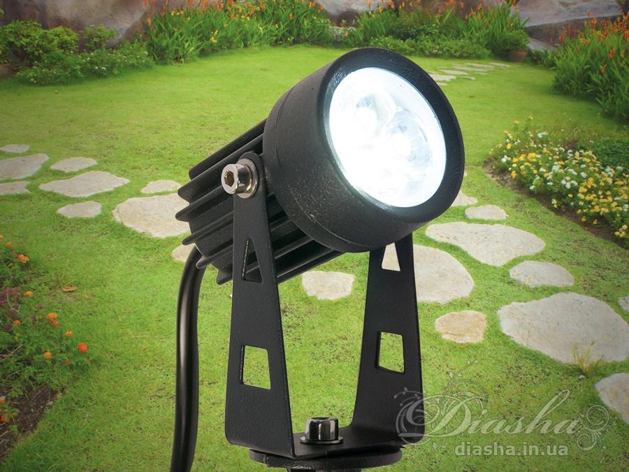 Светильник садово-парковый светодиодный, 3wсадовые светильники, уличные светильники