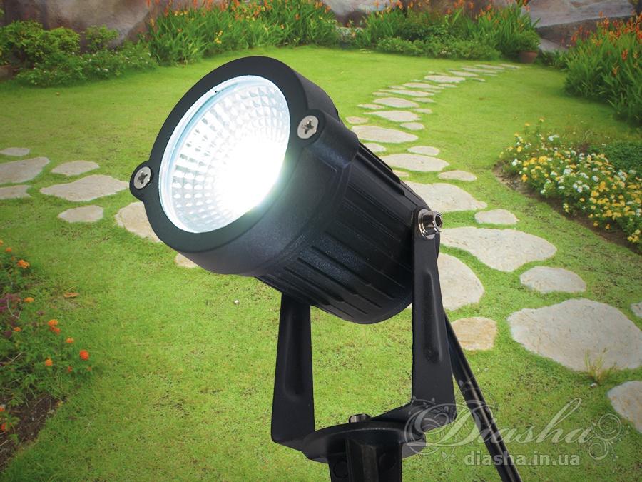 Светильник садово-парковый светодиодный, 5wсадовые светильники, уличные светильники
