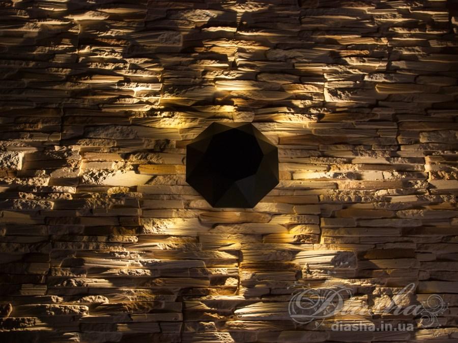 Восьмилучевой фасадный LED светильникФасадные светильники, LED светильники, уличные светильники, Архитектурная подсветка