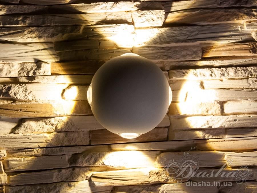 Четырёхлучевой фасадный LED светильник 12W. Четырёхлучевой фасадный LED светильник 12W Всего за 570грн.