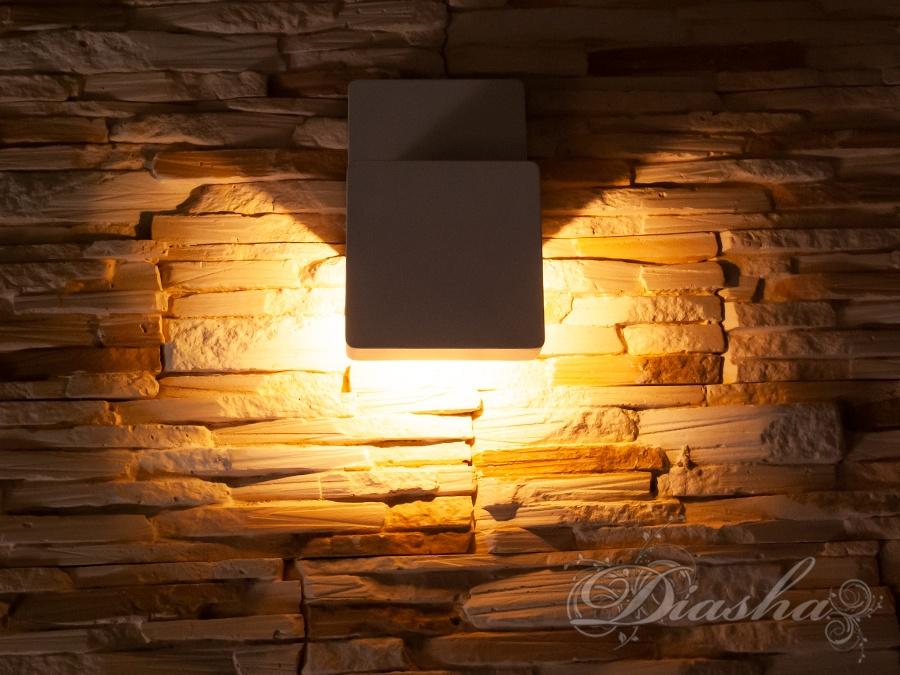 Плоский фасадный LED светильникФасадные светильники, LED светильники, уличные светильники, Архитектурная подсветка