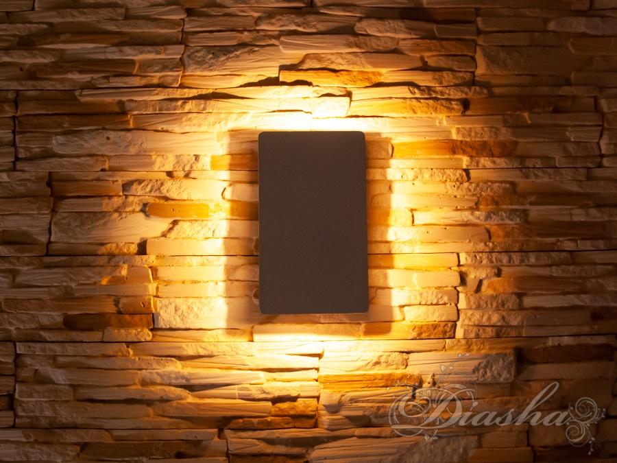 Плоский фасадный LED светильникФасадные светильники, LED светильники, уличные светильники, Архитектурная подсветка, Новинки