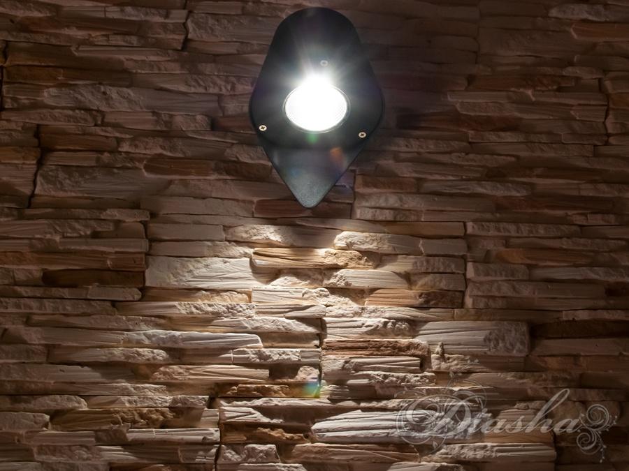 Однолучевая архитектурная LED подсветкаФасадные светильники, LED светильники, уличные светильники, Архитектурная подсветка