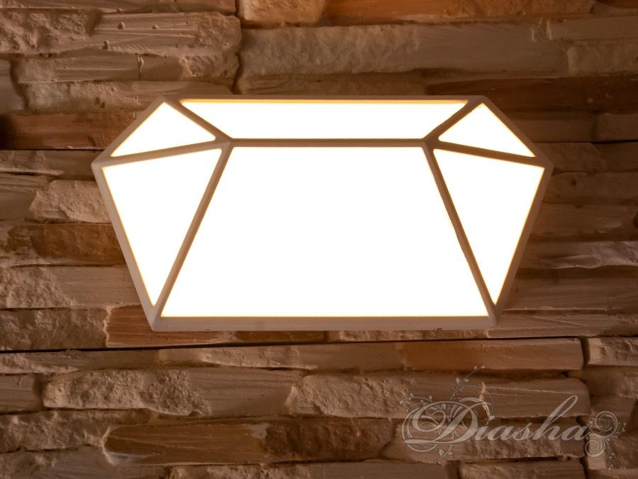 Накладная архитектурная LED подсветка - бриллиантФасадные светильники, LED светильники, уличные светильники, Архитектурная подсветка, Новинки