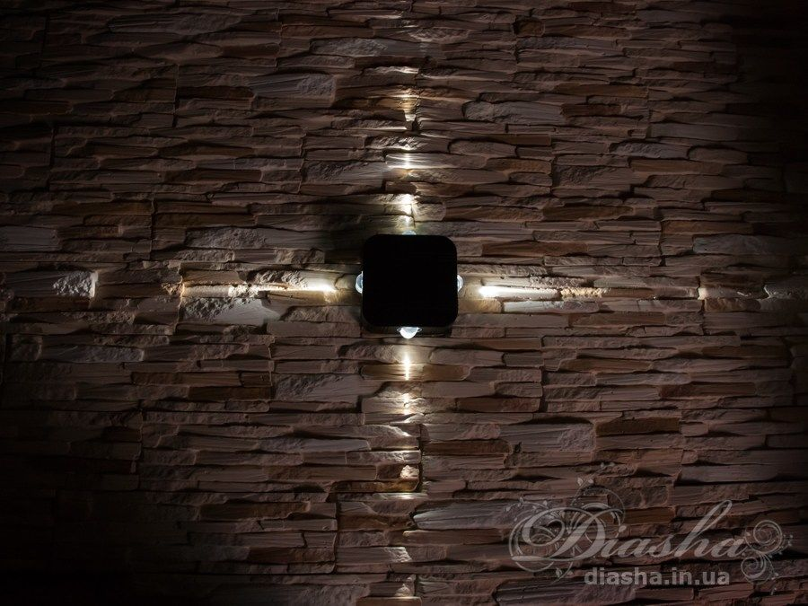 Четырёхлучевой фасадный LED светильник. Четырёхлучевой фасадный LED светильник Всего за 720грн.