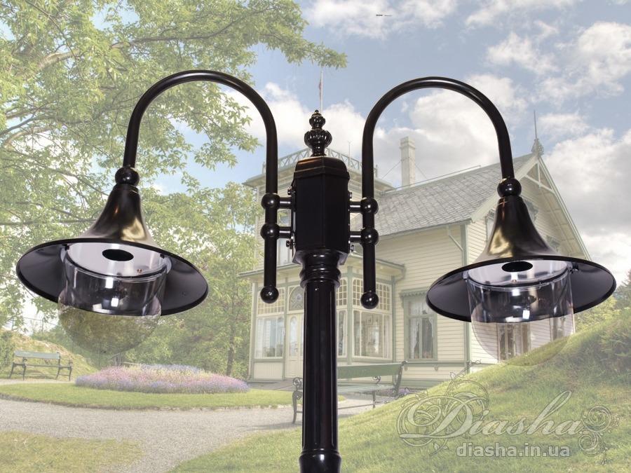 Фонарь садово-парковый на 2 рожкасадовые светильники, уличные светильники, Фонари парковые