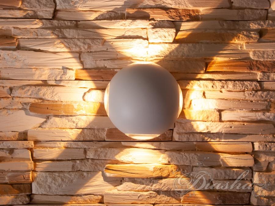 Четырёхлучевой фасадный LED светильникФасадные светильники, LED светильники, уличные светильники, Архитектурная подсветка, Новинки