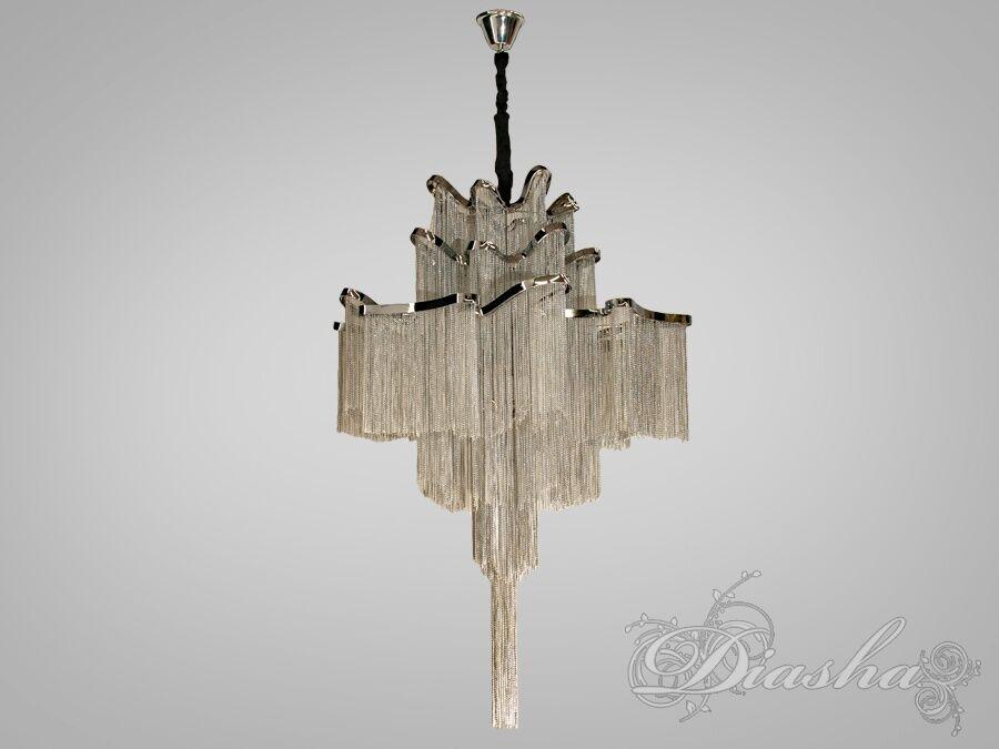 Современная классическая люстра с цепочками, на 12 ламп. Современная классическая люстра с цепочками, на 12 ламп Всего за 17700грн.