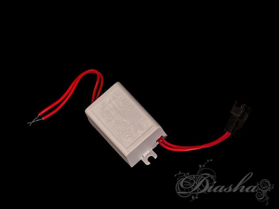 LED драйвер для точечных светильников с подсветкой, мощность 3WЭлектрофурнитура, Пульты, Новинки